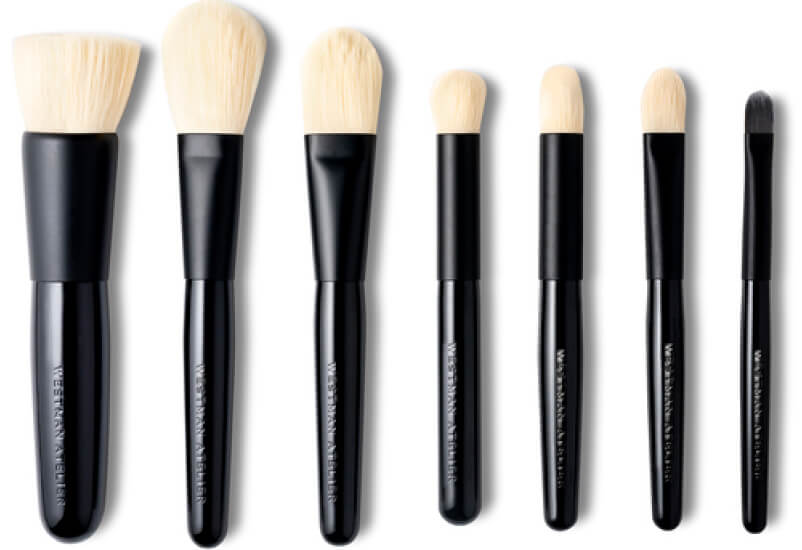 Westman Atelier makeup for makeup brushes