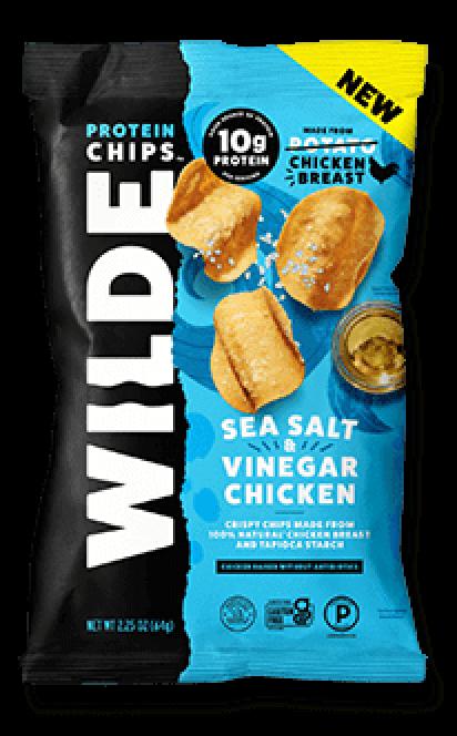 Wilde Protein Chips Salt and Vinegar Chicken