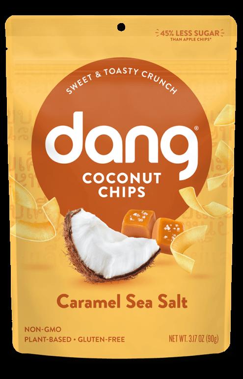 Dang Coconut Chips Sea Salt Caramel