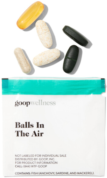 goop Wellness BALLS IN THE AIR goop, $90/$75 with subscription
