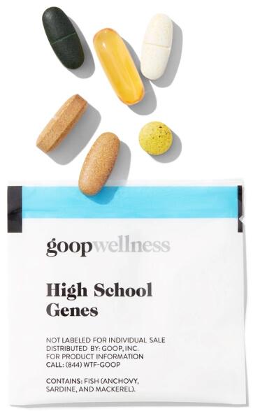 goop Wellness HIGH SCHOOL GENES goop, $90/$75 with subscription