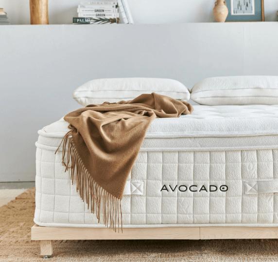 Avocado Green Mattress Organic Luxury Plush Mattress