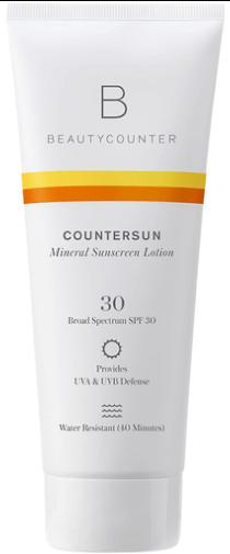 Beautycounter sunscreen