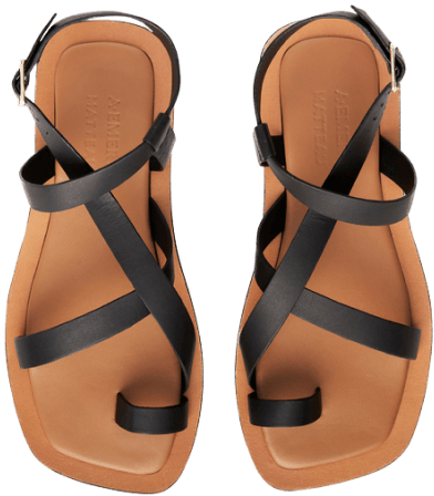A Emery sandals goop, $190