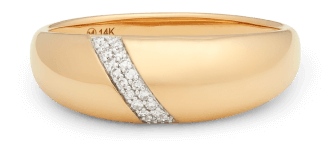 GOOP x MEJURI PAVE DIAMOND DOME RING, goop, $ 550