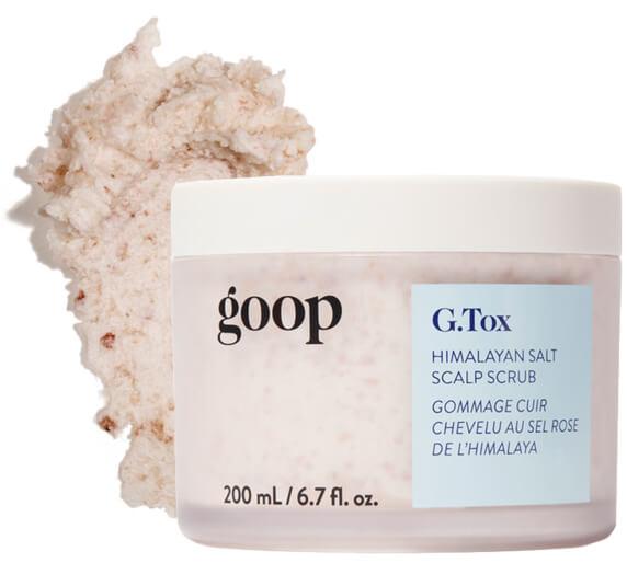 goop Beauty G.Tox Himalayan salt peeling shampoo
