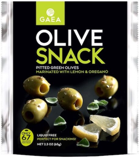 Gaea packets of green olives