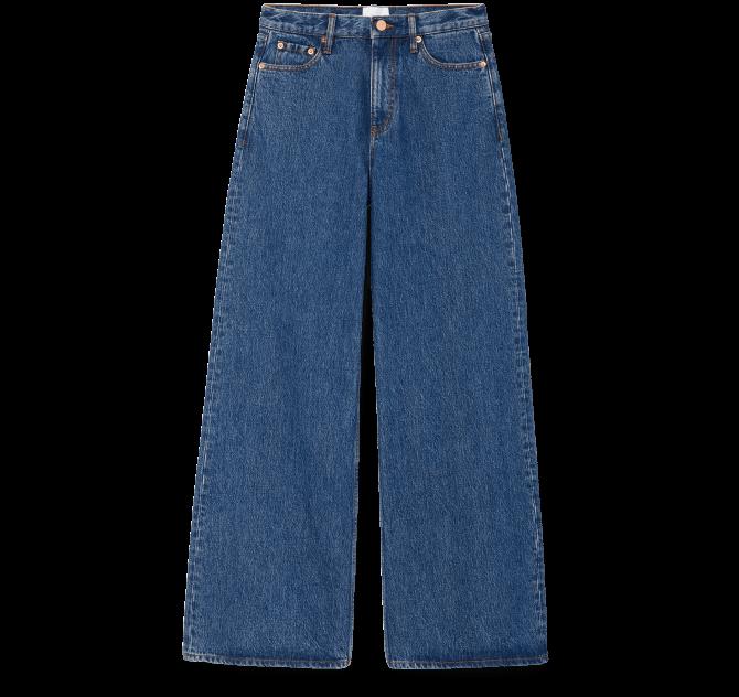 GEIGER WIDE-LEG JEANS G. Label, $295