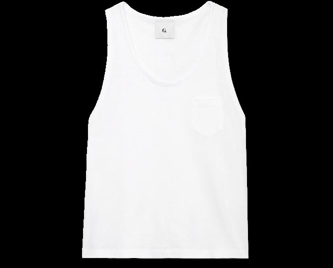 REYNOLDS SCOOP-NECK TANK G. Label, $145