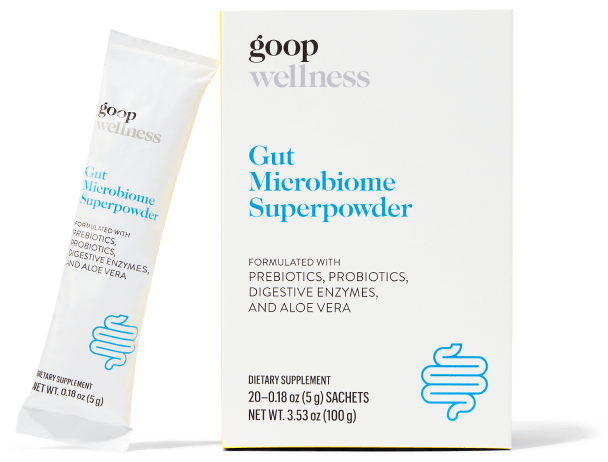 goop Wellness, Gut Microbiome Superpowder, goop, $55/$50 with subscription