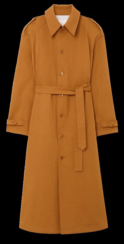 MARIA MCMANUS TRENCH COAT, goop, $850