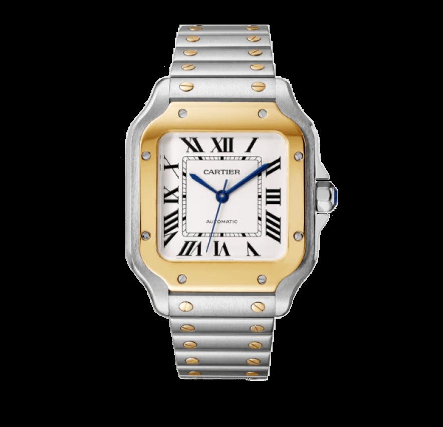 santos watch, Cartier, $9,950
