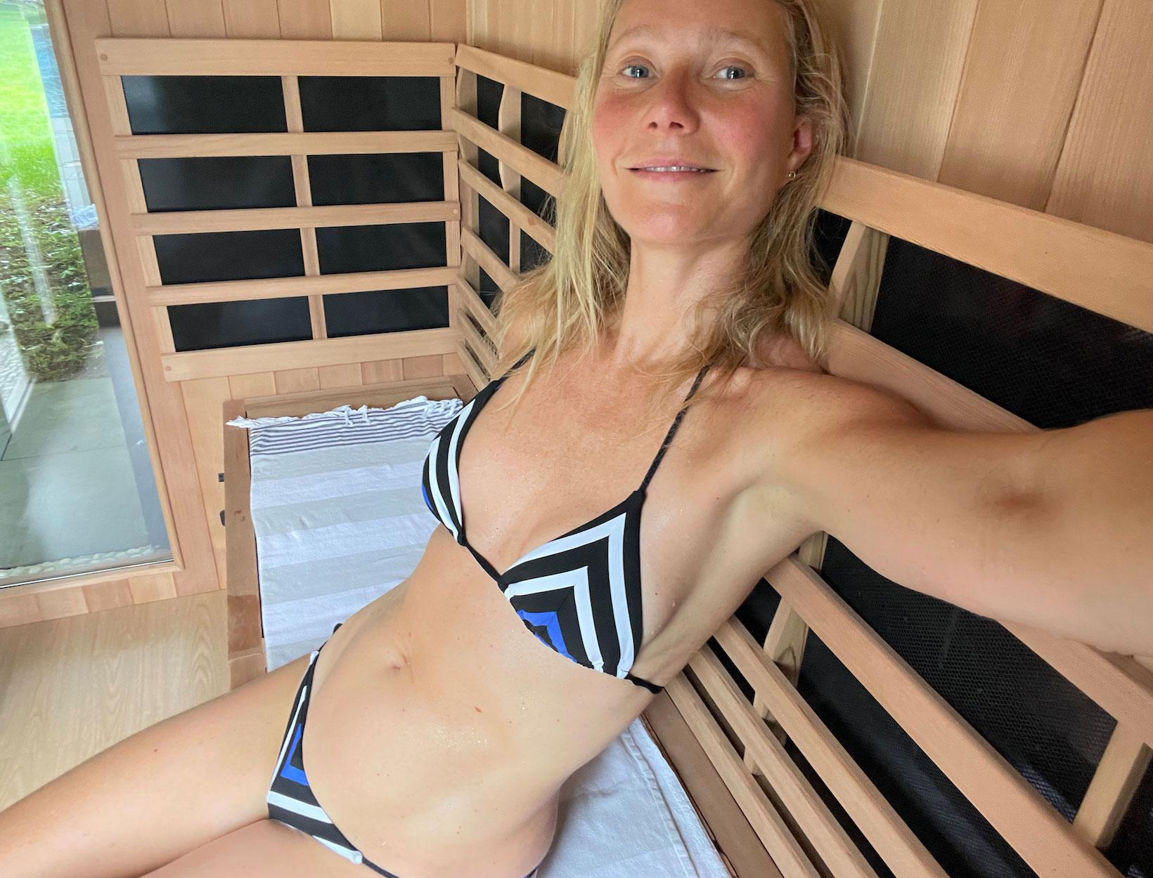 GP utilizing her sauna