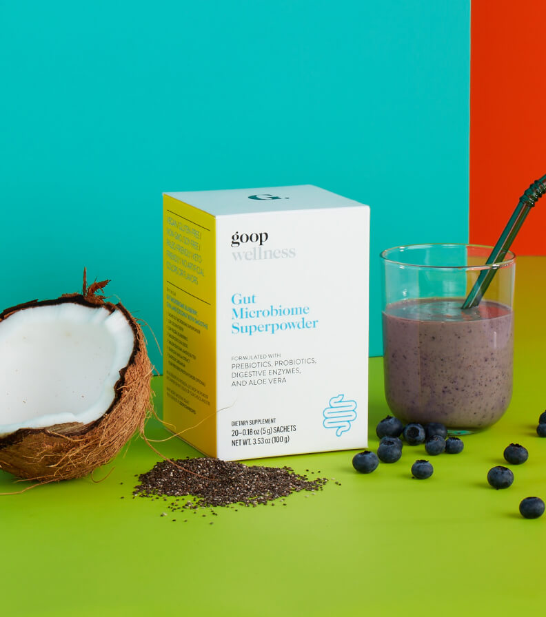 goop wellness Gut Microbiome Superpowder