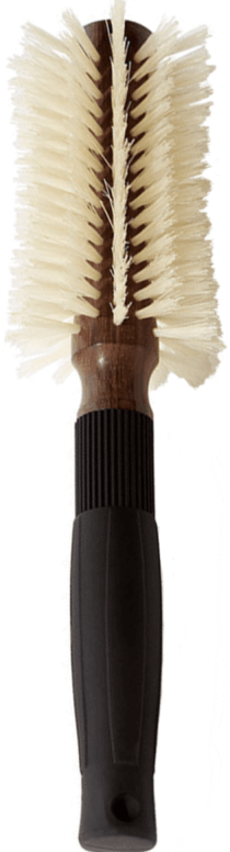 Christophe Robin Pre-Curved Blowdry Hair Brush 12 Rows, goop, $103