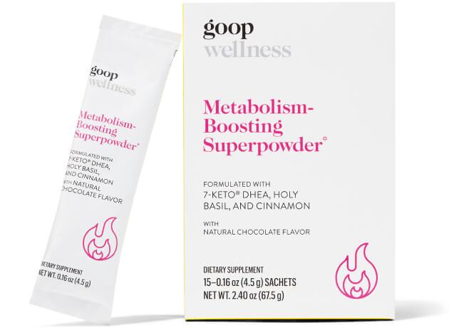 goop Wellness, Metabolism-Boosting Superpowder, goop, $55/$50 with subscription