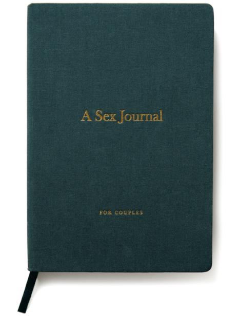 A Sex Journal A SEX JOURNAL FOR COUPLES goop, $26