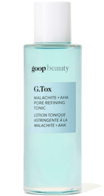 goop Beauty G.Tox Malachite + AHA Pore Refining Tonic, goop, $75/$68 with subscription