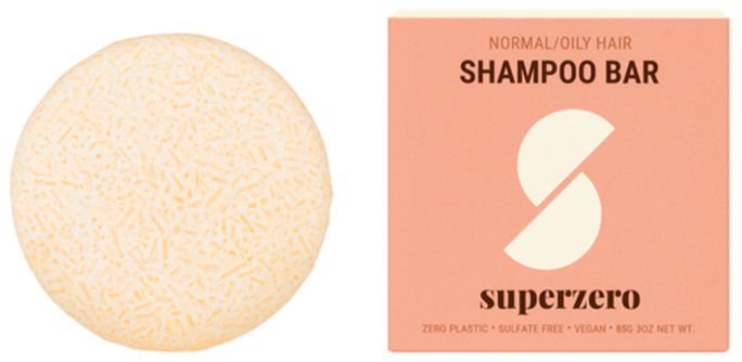 Superzero Shampoo Bar for Normal/Oily Hair
