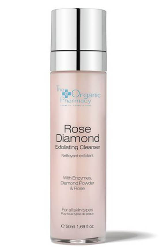 The Organic Pharmacy Rose Diamond Exfoliating Cleanser, goop, $73