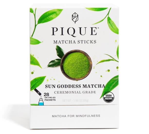 Pique tea Goddess of the sun Matcha sticks