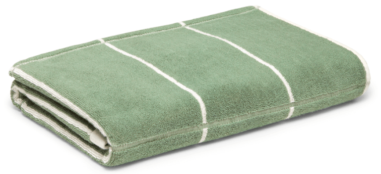 Baina Bethell Organic Cotton Towel, goop, $80