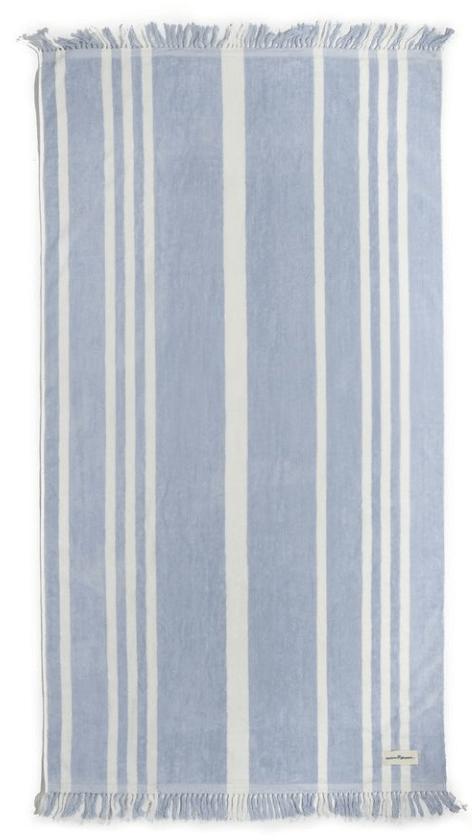 Business & Pleasure Co. The Beach Towel successful  Vintage Blue Stripe, goop, $69