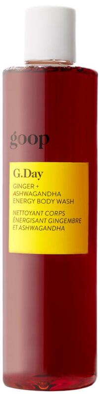 goop Beauty G.Day Ginger + Ashwagandha Body Wash