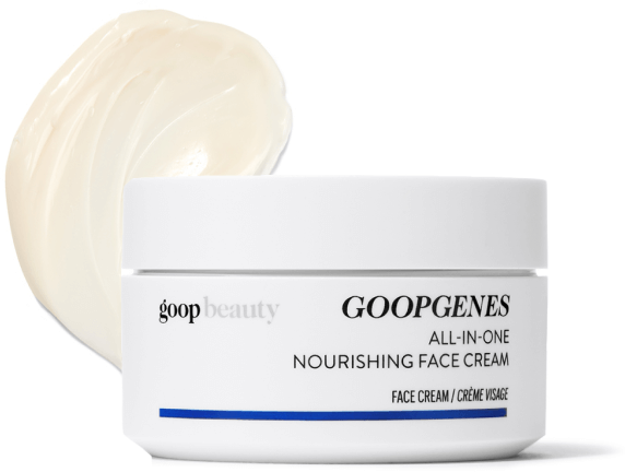 goop quality   GOOPGENES All-in-One Nourishing Face Cream, goop, $95/$86 with subscription