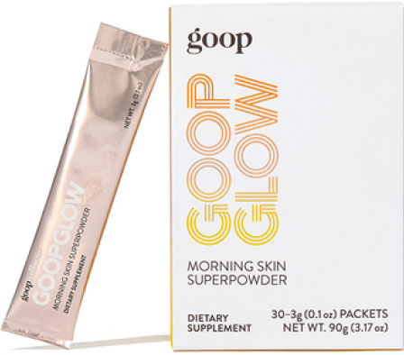 goop Beauty goopglow greeting  tegument  superpowder goop, $60/$55 with subscription
