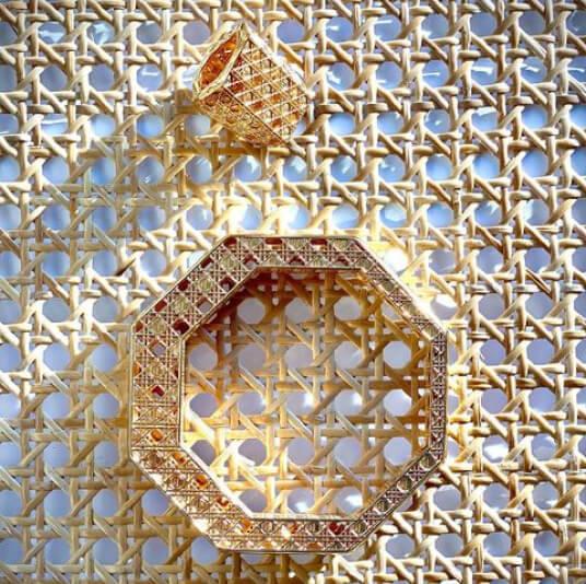 Moana Luu jewelry on a table