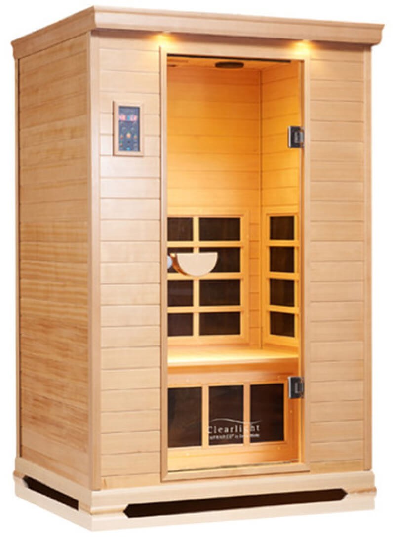 Clearlight Saunas, Nordic Spruce 2-Person Sauna