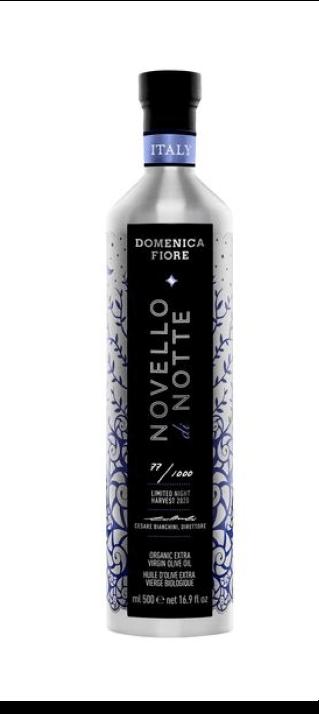 Domenica Fiore Novello di Notte Extra Virgin Organic Olive Oil