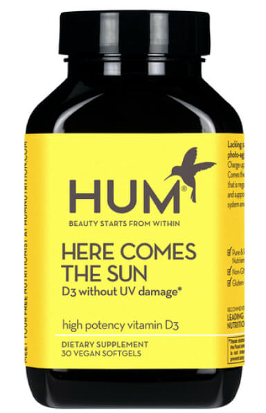 Hum Nutrition HERE COMES THE SUN HIGH-POTENCY VITAMIN D3 goop, $12