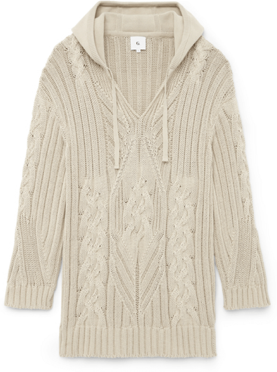 G. Label Silberg Cable Surf Sweater goop, $675