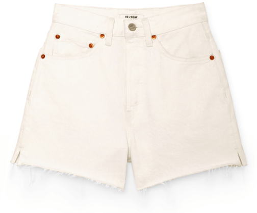 RE/DONE shorts goop, $195