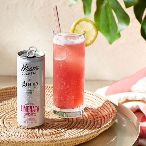 Miami Cocktail Co x goop limonata spritz