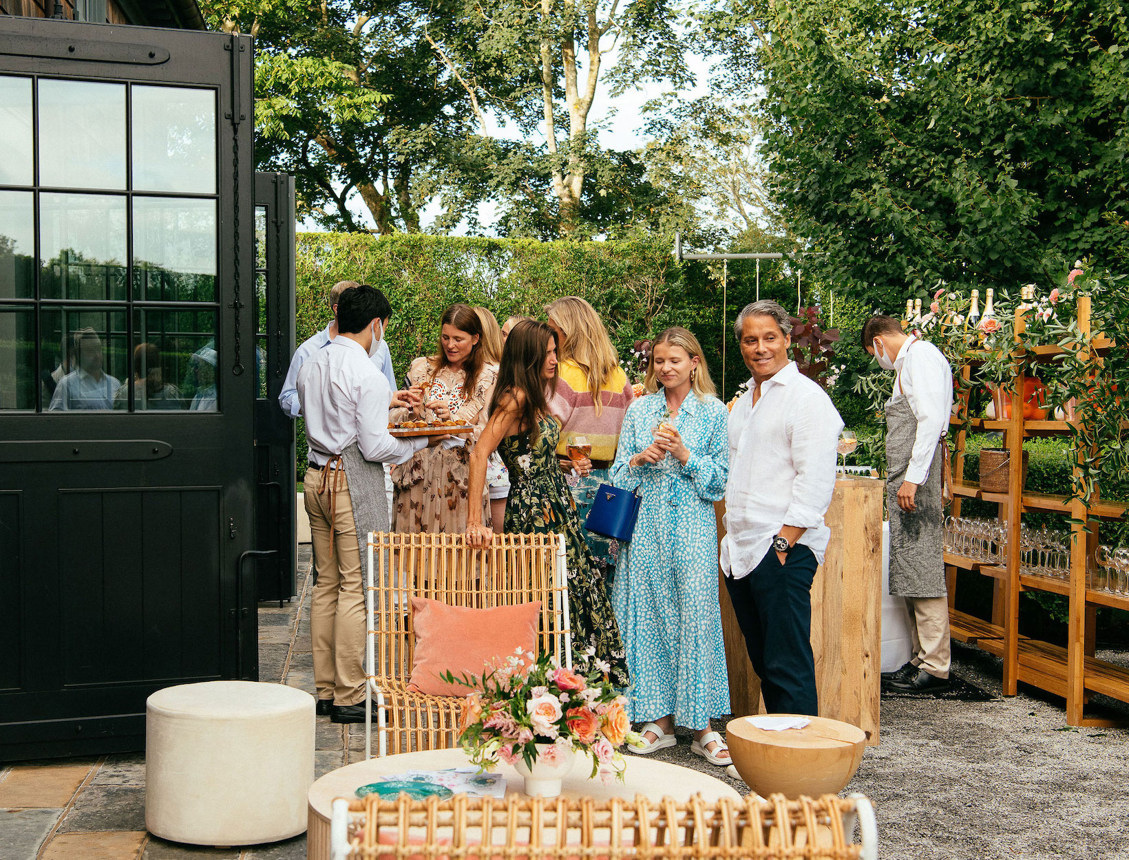 guests astatine  a plot  party