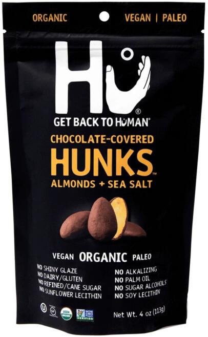 Hu Almonds + Sea Salt Hunks Hu, $49