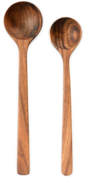 Connected Goods Acacia Wooden Spoon Set goop, $37