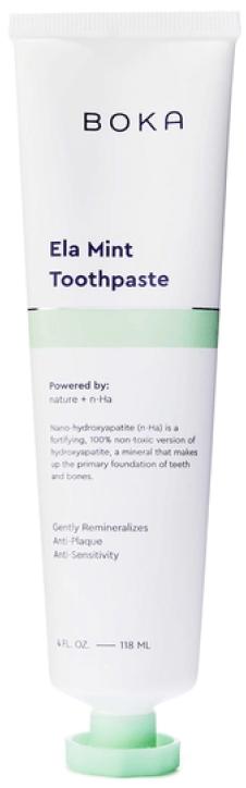 BOKA Ela Mint Toothpaste goop, $12