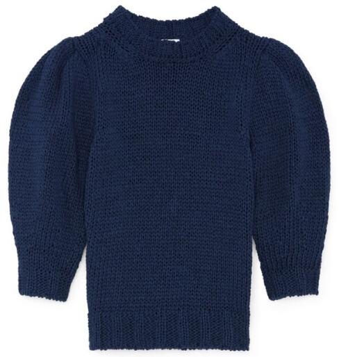 G. Label AmyLee Chunky Puff Sleeve Sweater