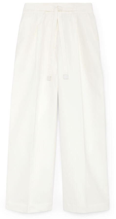 G. Label Henry Pleat Front Cropped Pant goop, $495