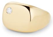 Bague Auriculaire à Diamants Flottants Sydney G. Label