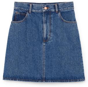 G. Label HArlow - mini-jupe trapèze en jean