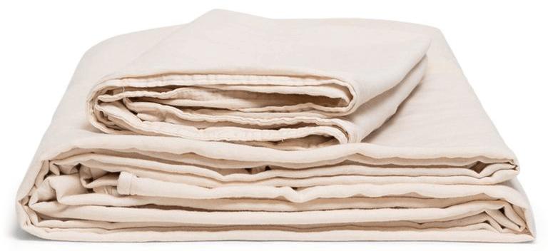 Morrow Organic Matte Sateen Sheet Set successful  Blush goop, $196