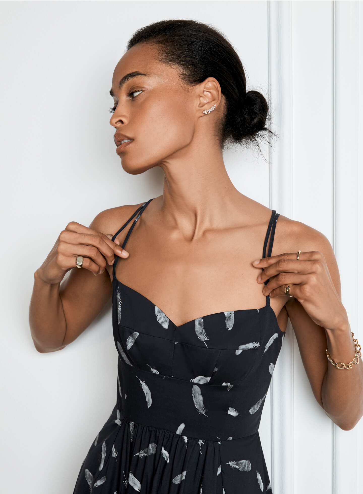 Bailey Midlength Bustier Dress