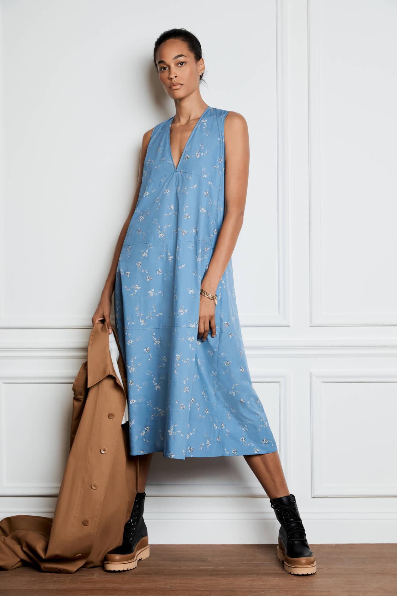 Margot Midlength A-Line Dress
