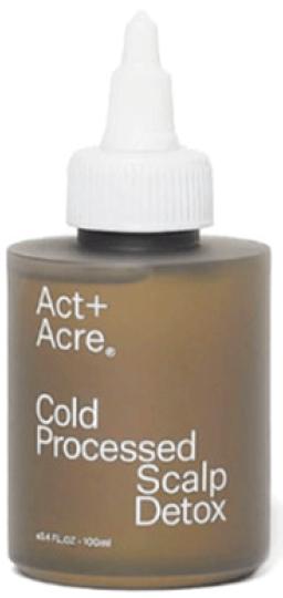 Act + Acre Cold Processed Scalp Detox, goop, $42