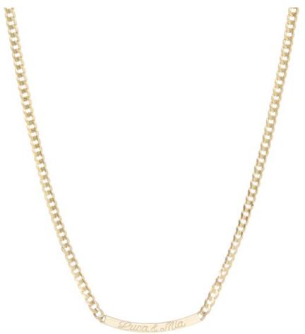 Ariel Gordon ID Arc Necklace, goop, $1,825